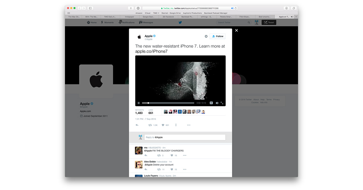 iPhone 7 on Twitter