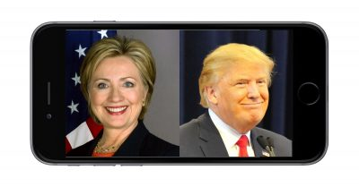 Hillary Clinton and Donald Trump presidential debate