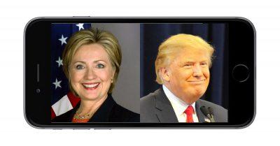 Hillary Clinton and Donald Trump presidential debate