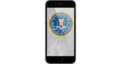 FBI backdoor and iPhone cracked screen