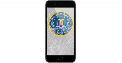 FBI backdoor and iPhone cracked screen