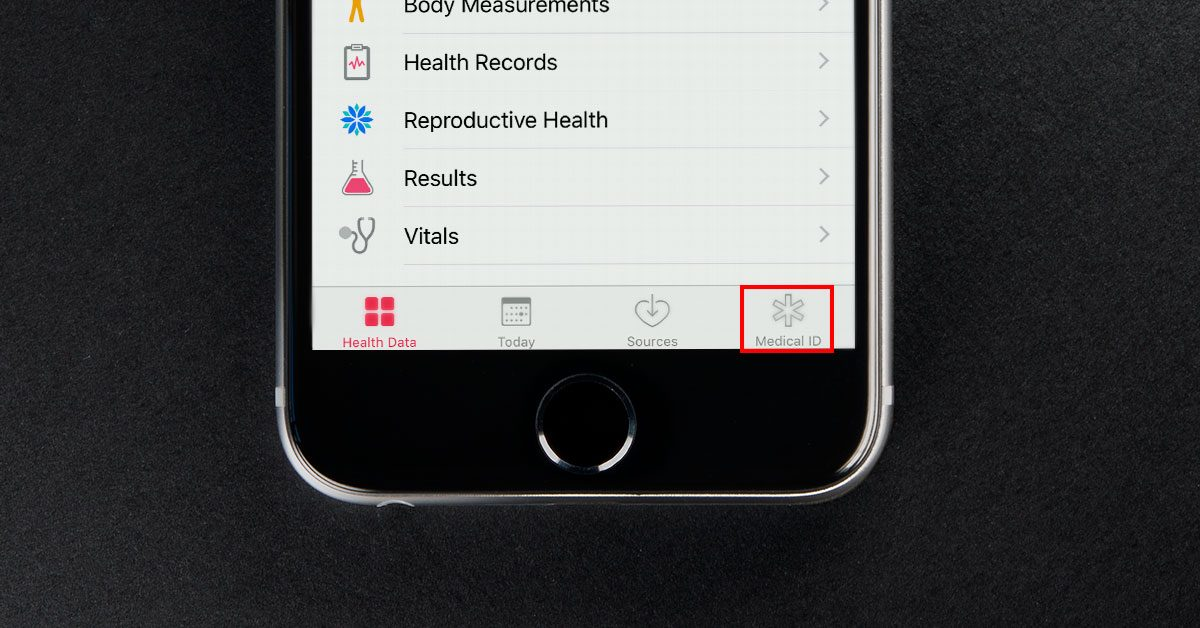 iphone medical id