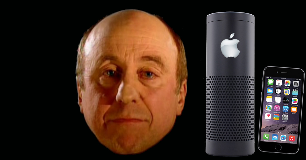 Apple artificial intelligence with some Red Dwarf love