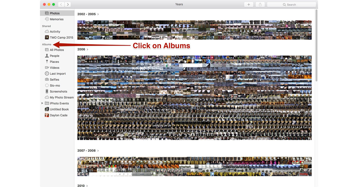 How Do You Export Multiple Albums In Macos Sierra Photos The Mac Observer