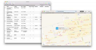 macOS Sierra tabbed windows