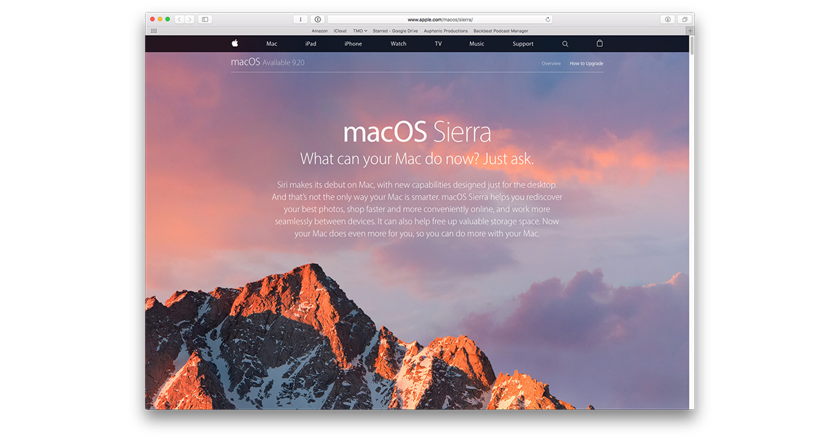 The Complete Guide to a Clean Install of macOS Sierra