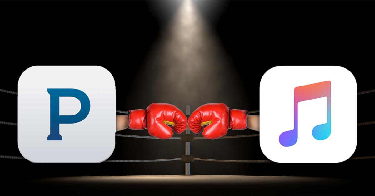 pandora vs apple music