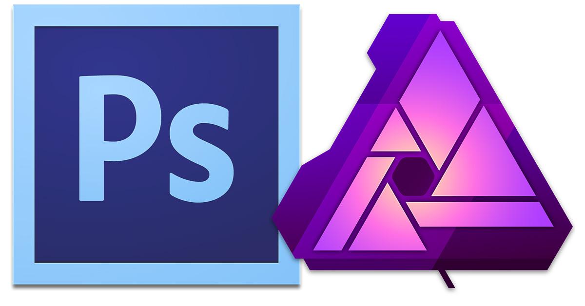 Photoshop and Affinity Photo Raw image