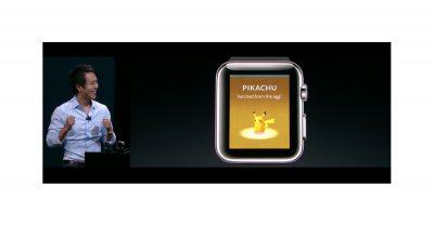Pokémon GO on Apple Watch