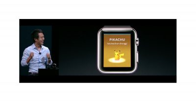 Pokémon GO on Apple Watch