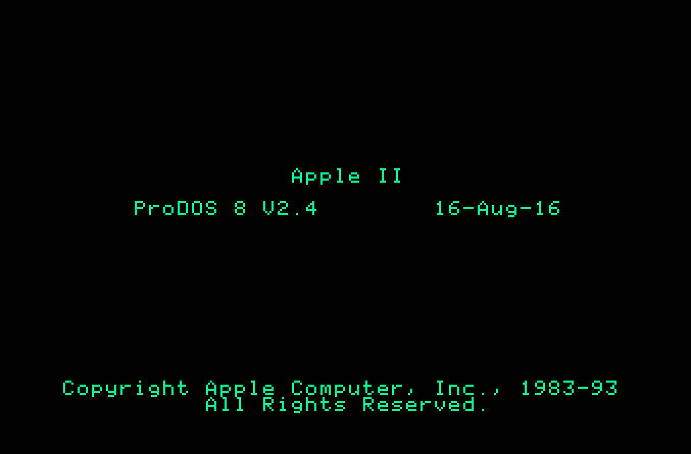 John Brooks Releases ProDOS 2.4 for All Apple II Computers