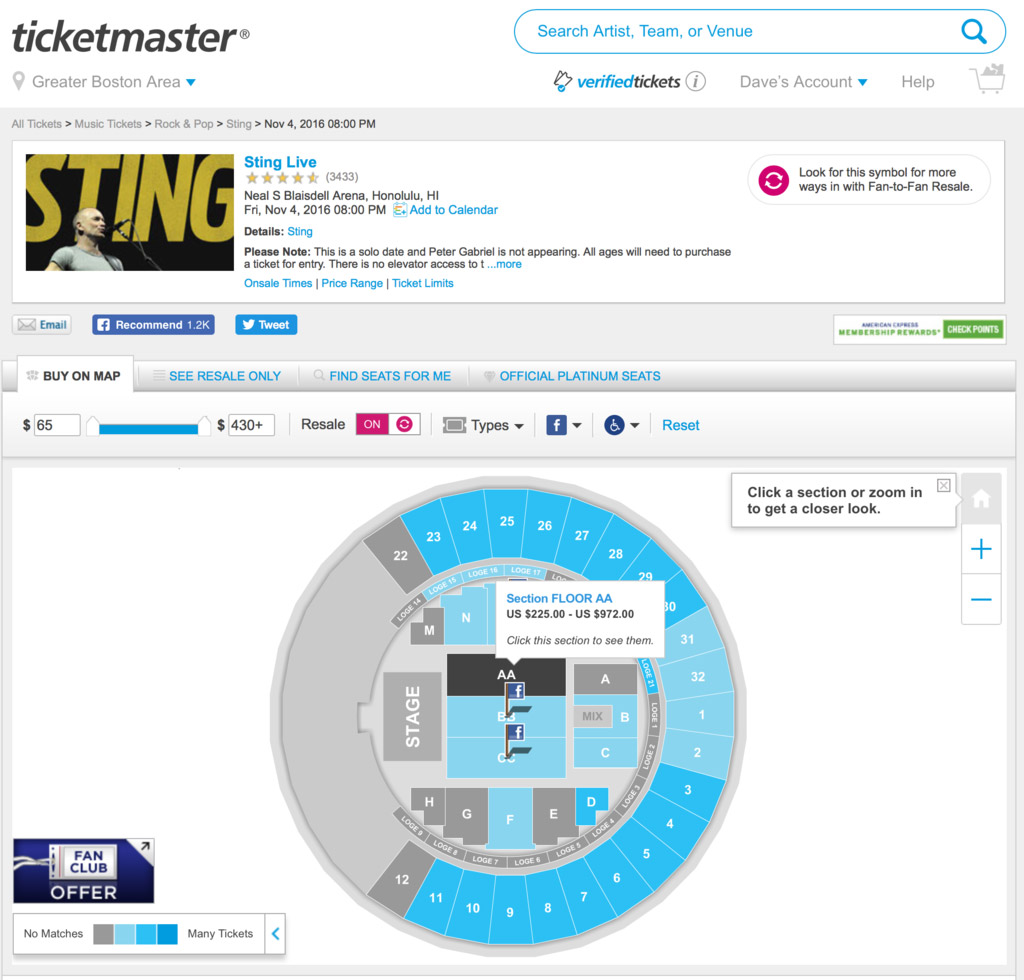 Ticketmaster Still Uses Flash