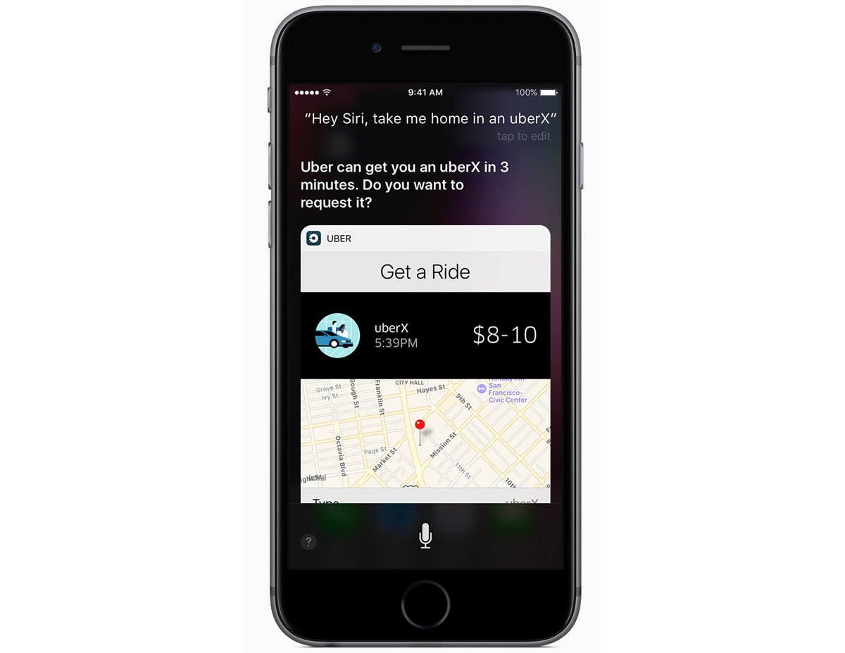 Siri in iOS 10: Apple Highlights Third Party Apps Using Siri