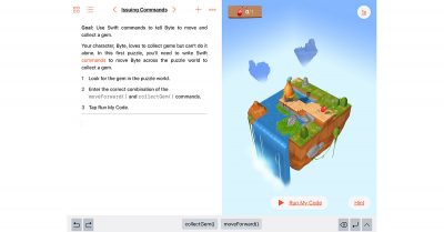 Swift Playgrounds for iPad