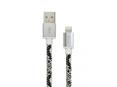 Urge Basics Snakeskin MFi Certified Lightning Cable