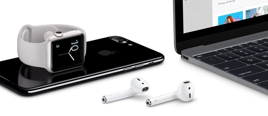 Apple family portrait.