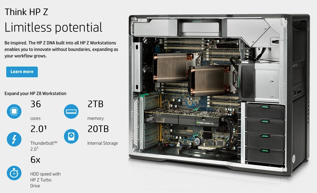 HP Z workstation