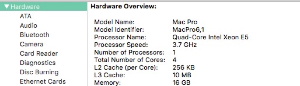 Get Detailed CPU Info From Mac's Command Line - The Mac Observer