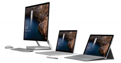 The new Microsoft Surface family
