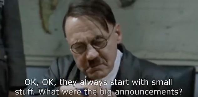 Hitler responds to hello again