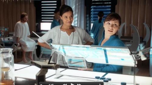 The computer from TV series Terra Nova