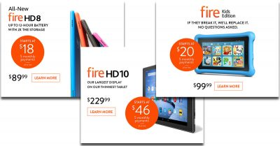 Amazon Adverts for Fire HD Devices