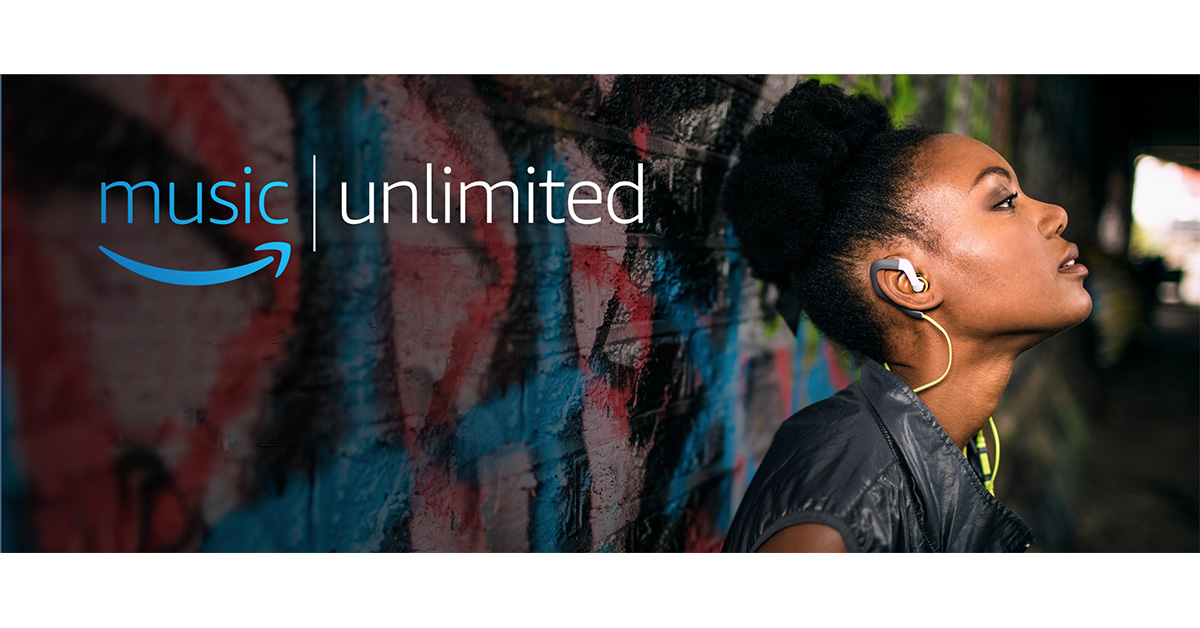Amazon Music Unlimited streaming music service