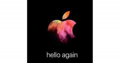 Apple Media Invitation