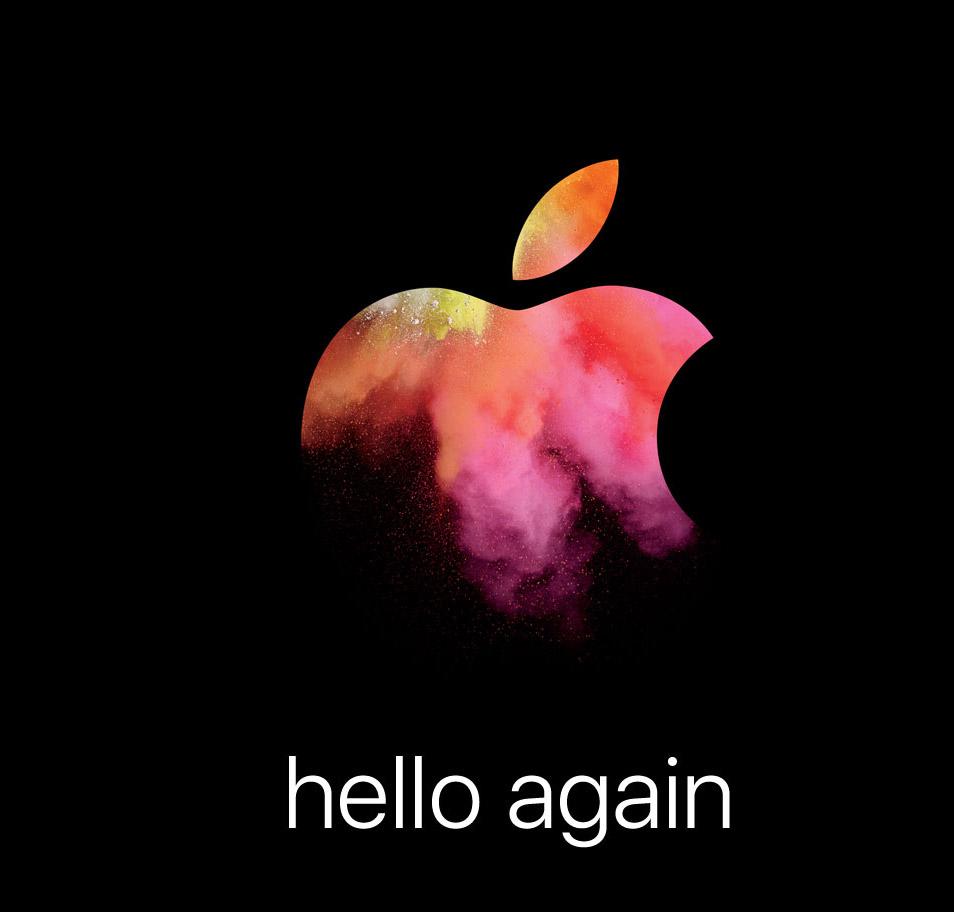 "Apple Media Event ""hello again"""
