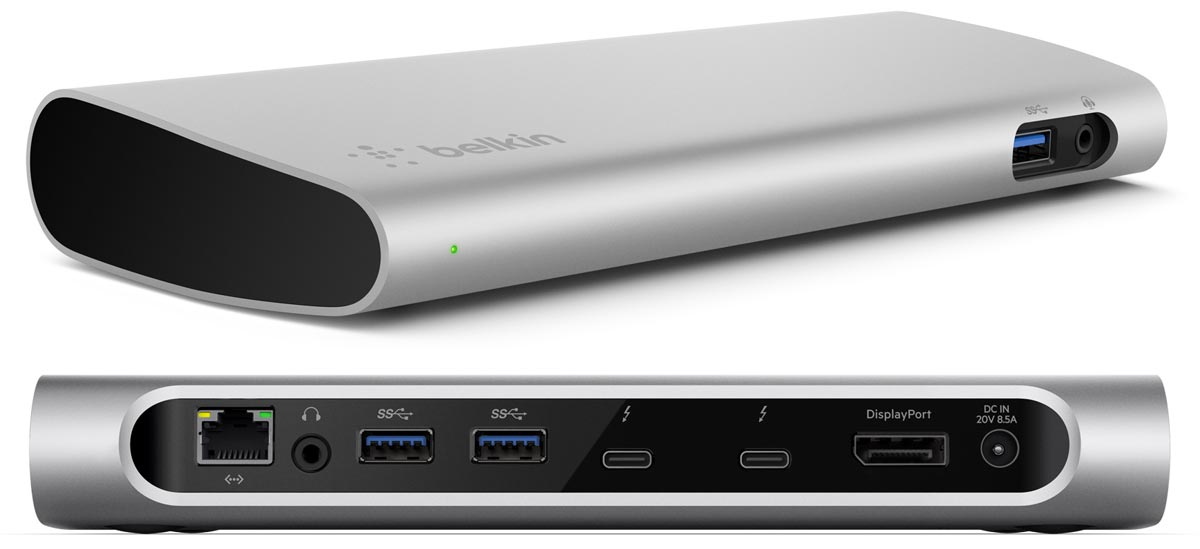Belkin Announces Thunderbolt 3 Dock