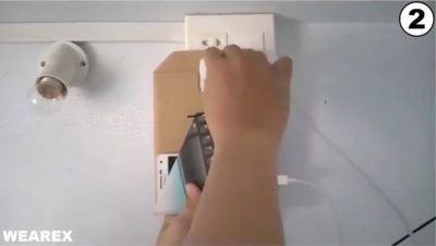 Do it yourself charger holder