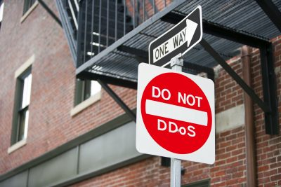 Do Not DDoS Street Sign