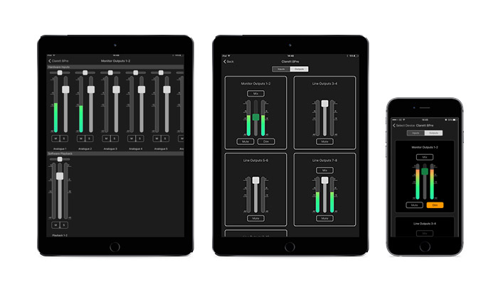 Focusrite Allows Users to Control Their Audio Interface from iOS App