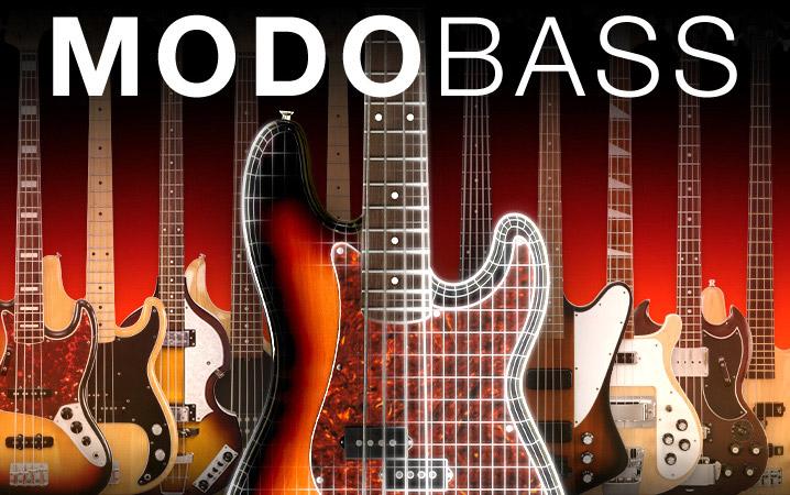 IK Multimedia's MODO Bass