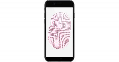Apple full-display Touch ID patent