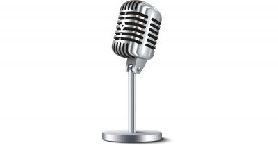 Old Fashioned Microphone
