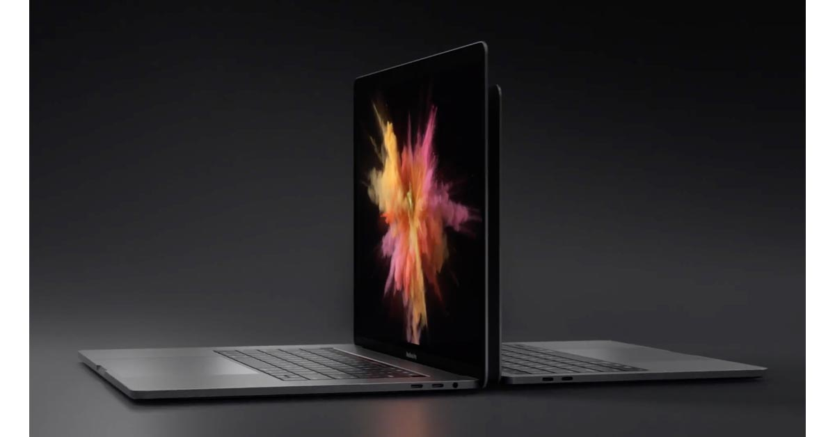 Screenshot from Apple commercial for MacBook Pro with Touch Bar