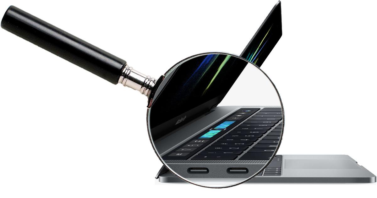 Touch Bar Retina MacBook Pro with USB-C ports