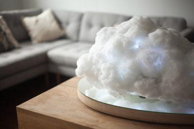 Making Weather Levitating Cloud Speaker