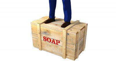 Man on a Soapbox