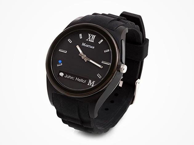 Martian Notifier Smartwatch: $29.99