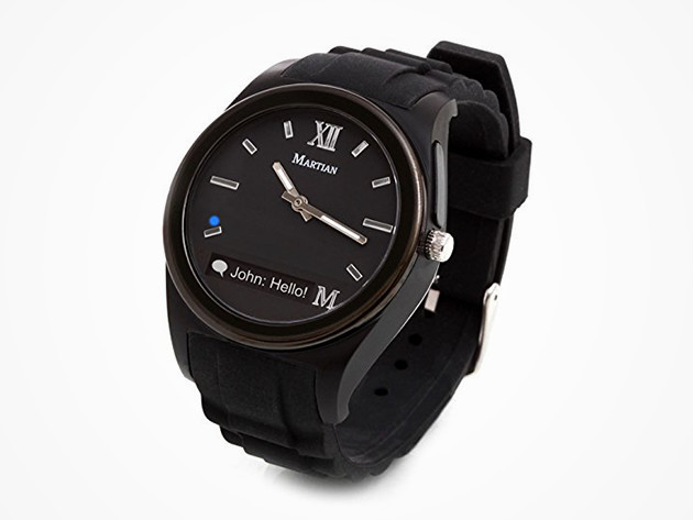 Martian Notifier Smartwatch: $29.99