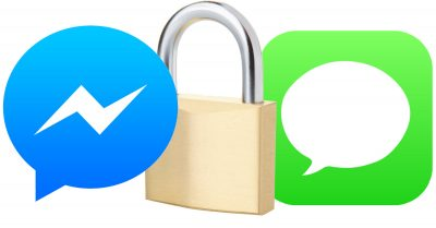 Facebook and Apple chat end-to-end encryption