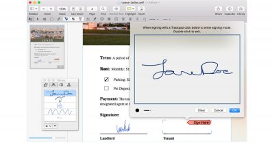 PDFpen Pro 8 for the Mac
