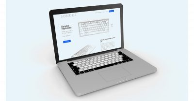 Sonder E Ink keyboard in MacBook Pro