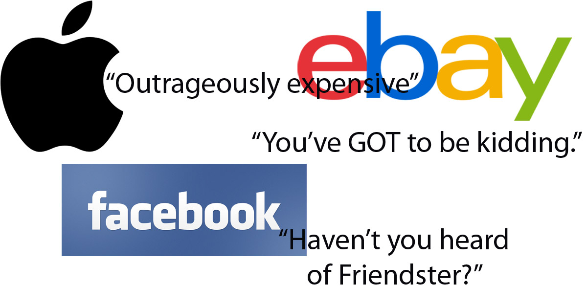 VC Confessions: Apple 'Outrageously Expensive,' Hasn't Facebook Heard of Friendster?