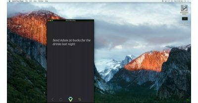 Viv demo on MacBook Pro at Disrupt 2016