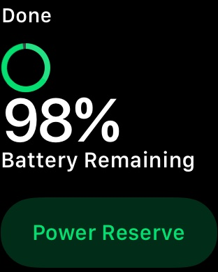 The Reserve Power Button.