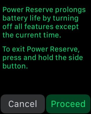 Reserve Power explanation.