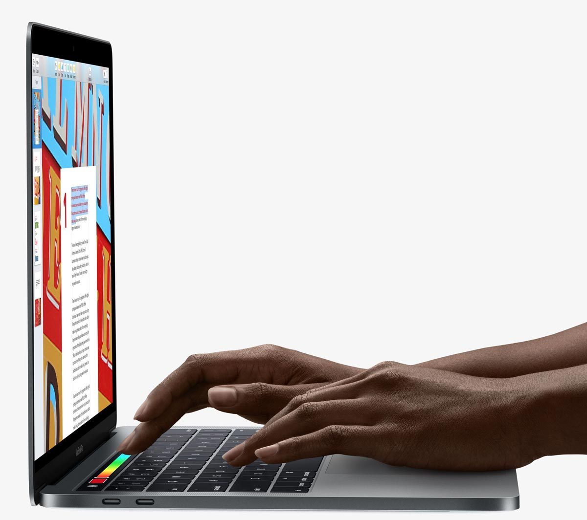 Using Touch Bar on MacBook Pro